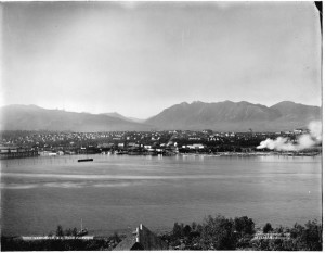 View from Fairview House 1904
